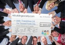 Crowd funding cheque circle