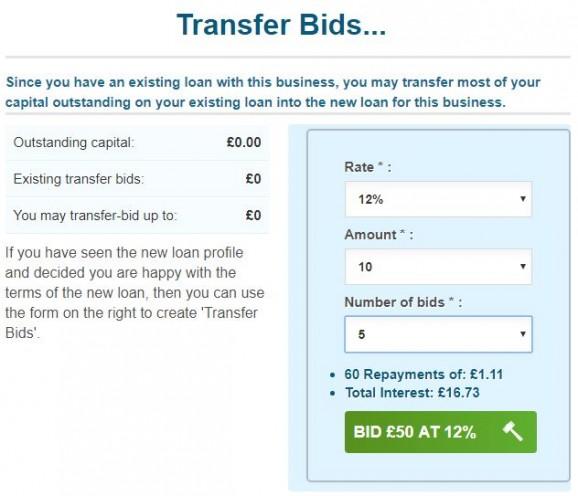 Transfer bids 2