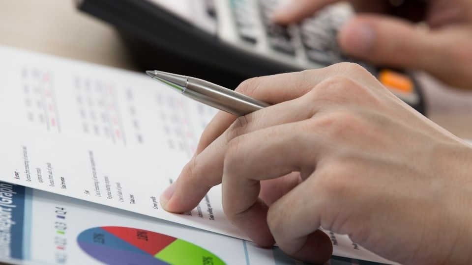 net returns calculations by hand
